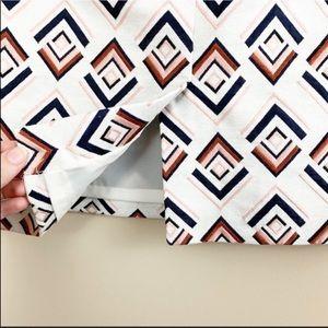 Ann Taylor Skirts - Ann Taylor Geometric Pencil Skirt Size 6 Petite